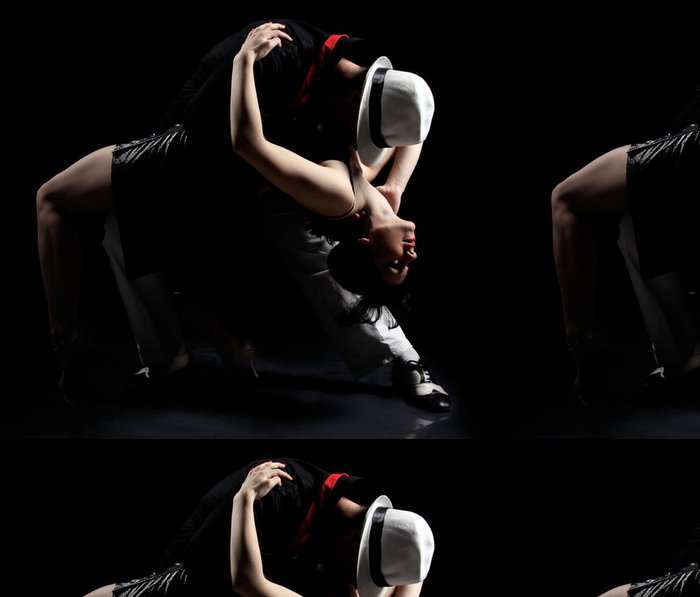 Tapeta Pixerstick Tango tanec - Témata