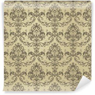 Vinylová Tapeta Tapety ve stylu baroka. bezešvé paisley, vektorové indické květinové ornament pozadí, damaškové vzor. boho oblečení umění, design zpět na látku, papper a další.