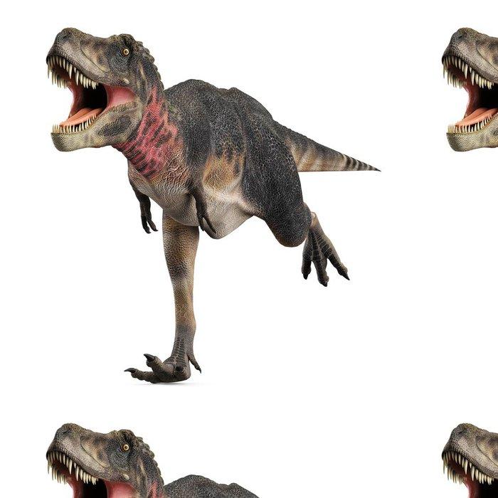 Vinylová Tapeta Tarbosaurus běží - Nálepka na stěny