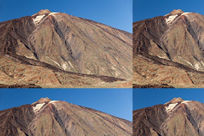 Vinylová Tapeta Teide vrchol - Hory