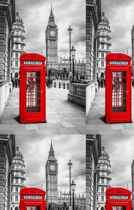 Tapeta Pixerstick Telefonzelle v Londýně - Cestování