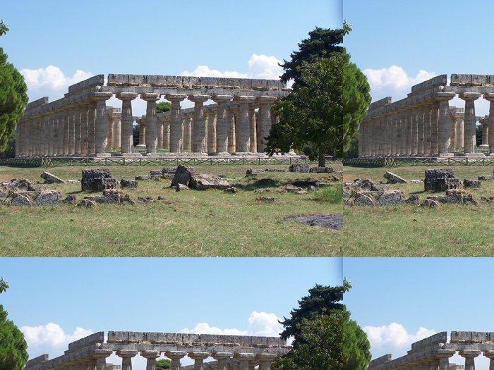 Vinylová Tapeta Temple Grec en Italie - Evropa