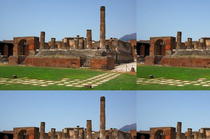 Vinylová Tapeta Temple of Jupiter v Pompejích - Evropa