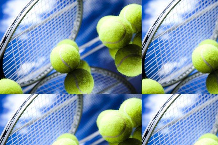 Tapeta Pixerstick Tenisový míček - Tenis