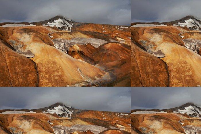 Tapeta Pixerstick Teplotní pásmo na Islandu - Příroda a divočina
