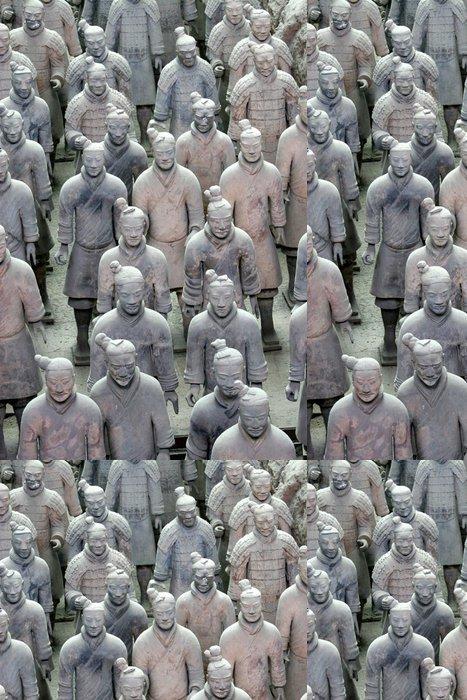 Vinylová Tapeta Terakotových válečníků - Asijská města