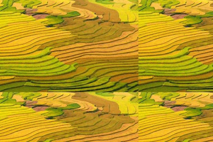 Tapeta Pixerstick Terasových rýžových polí - Styly