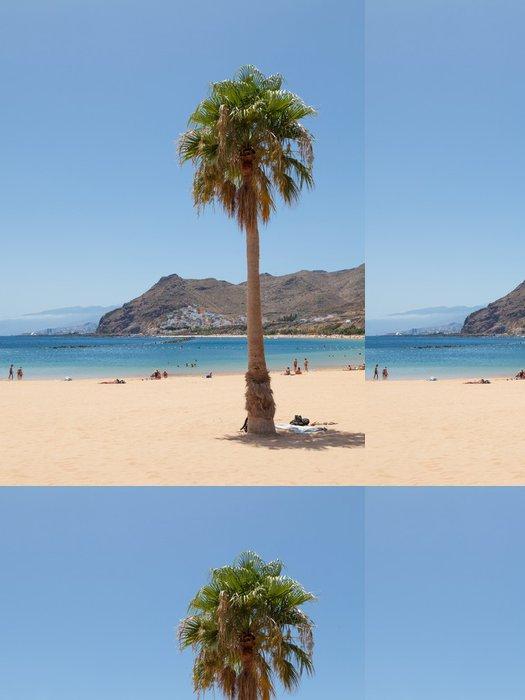 Vinylová Tapeta Teresitas Beach na Tenerife - Evropa