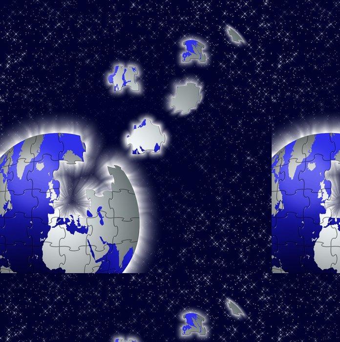 Tapeta Pixerstick Terre - Meziplanetární prostor