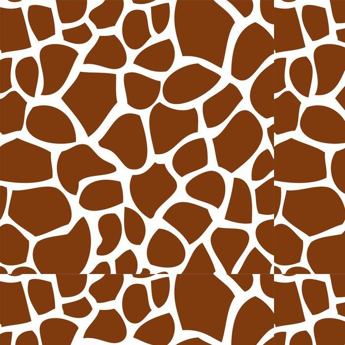 Tapeta Pixerstick Textura žirafí kůže - Pozadí