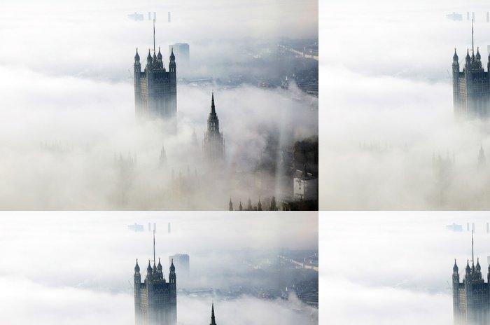Tapeta Pixerstick Těžká mlha hity Londýn - Evropská města
