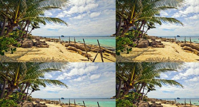 Tapeta Pixerstick Thajsko: Beach von Ko Tao - Vodní sporty