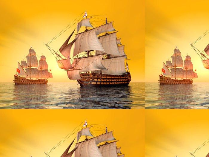 Tapeta Pixerstick The Battle of Trafalgar - Násilí a zločin