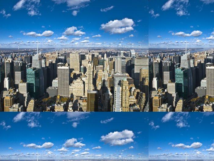 Tapeta Pixerstick The New York City panorama - Amerika