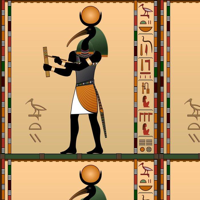 Tapeta Pixerstick Thoth - starověký egyptský bůh moudrosti a poznání. - Struktury