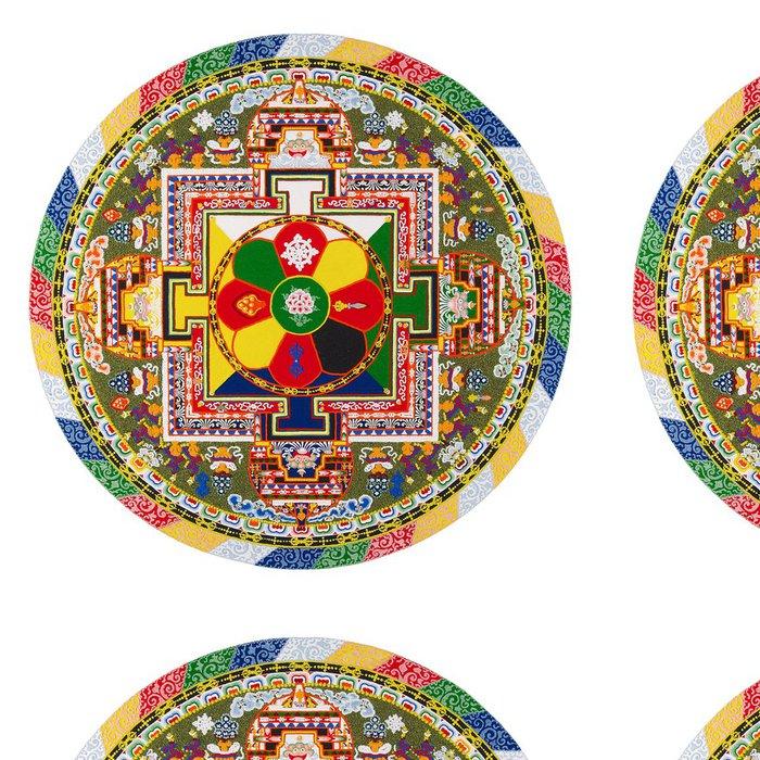 Tapeta Pixerstick Tibetská mandala - Nálepka na stěny