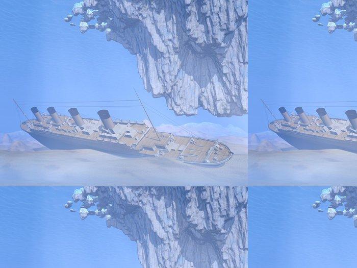 Tapeta Pixerstick Titanic loď - 3D vykreslování - Témata