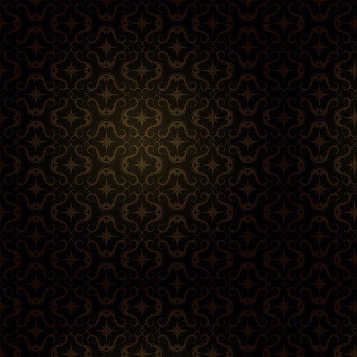 Tapeta Pixerstick Tmavá zlatá vzor - Pozadí