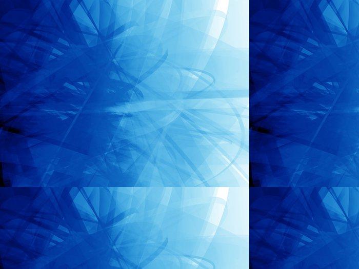 Vinylová Tapeta Tmavě modrá změť - Pozadí