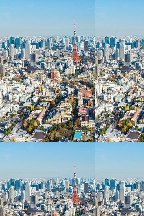Tapeta Pixerstick Tokio city - Asie