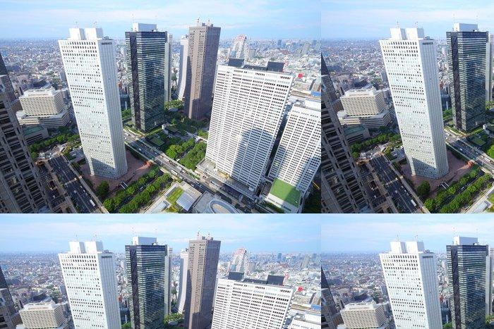 Tapeta Pixerstick Tokyo - Shinjuku - Asijská města