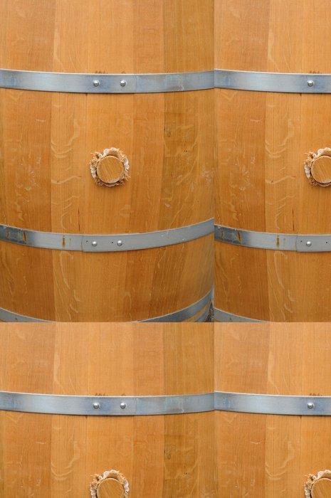 Tapeta Pixerstick Tonneau de vin de Bordeaux - Alkohol