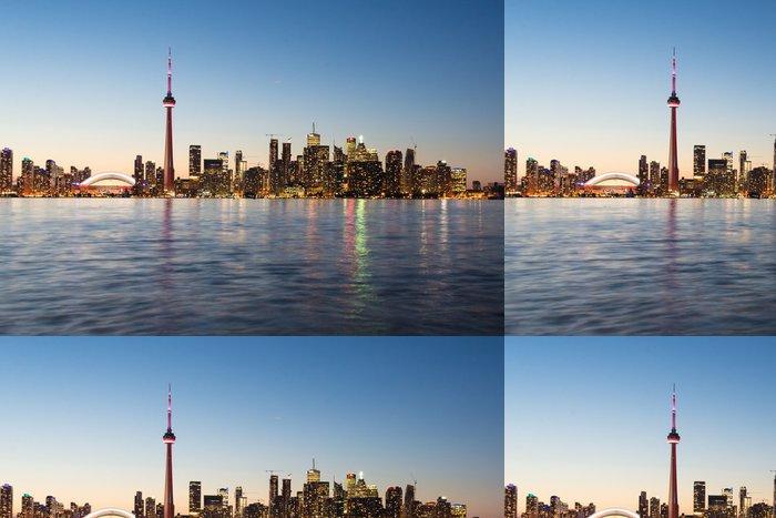 Tapeta Pixerstick Toronto panorama - Amerika