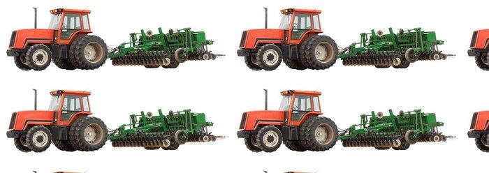 Vinylová Tapeta Traktor a pluh - Zemědělství