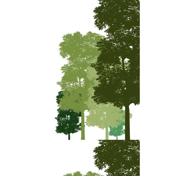 Tapeta Pixerstick Tree. Vektor - Nálepka na stěny