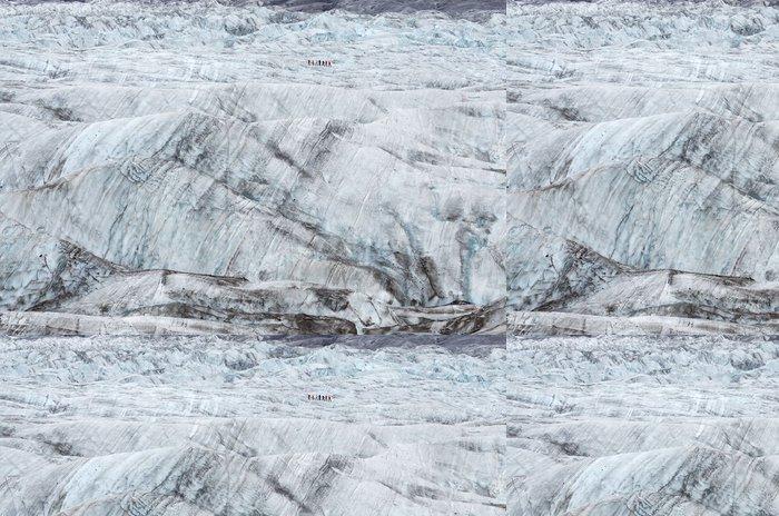 Tapeta Pixerstick Trekking ledovce Vatnajökull, Island - Přírodní krásy