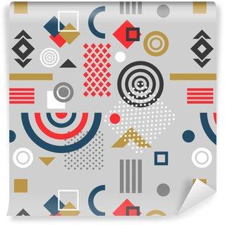 Vinylová Tapeta Trendové bezproblémové geometrické vzorek, vektorové ilustrace