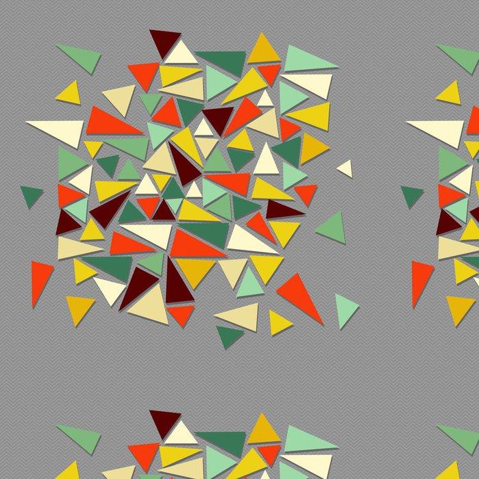 Tapeta Pixerstick Trendy ročník bederní geometrické prvky. - Témata