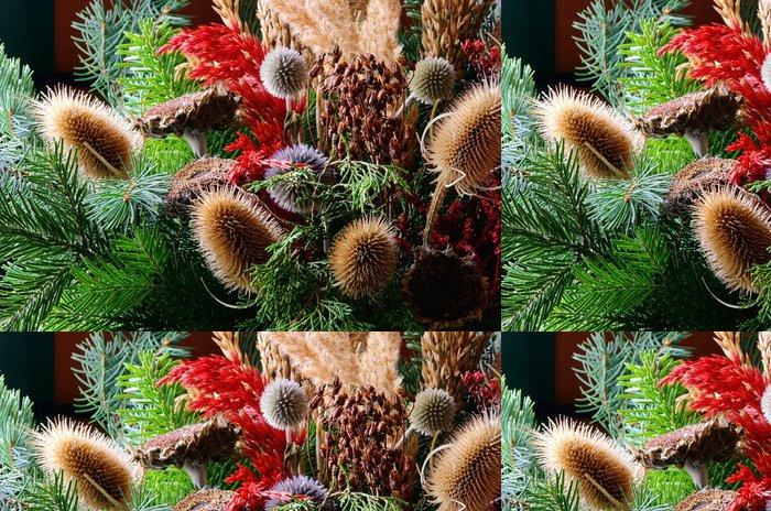 Tapeta Pixerstick Trockenstrauss - sušené kytice 02 - Domov a zahrada