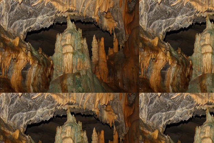 Tapeta Pixerstick Tropfsteinhöhle - Jiné