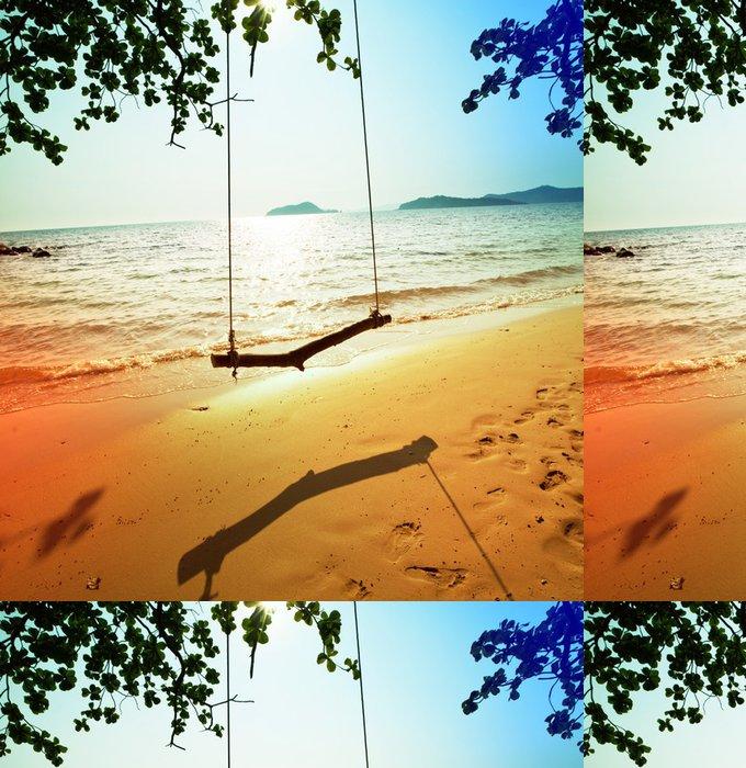 Vinylová Tapeta Tropical Beach - Prázdniny