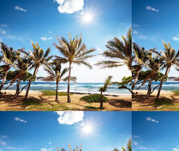 Tapeta Pixerstick Tropical Beach - Voda