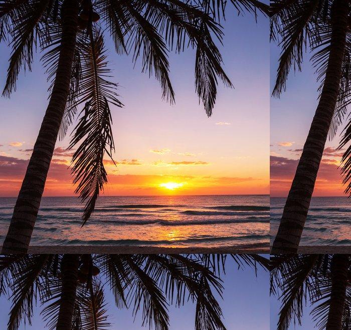 Tapeta Pixerstick Tropical Beach - Prázdniny