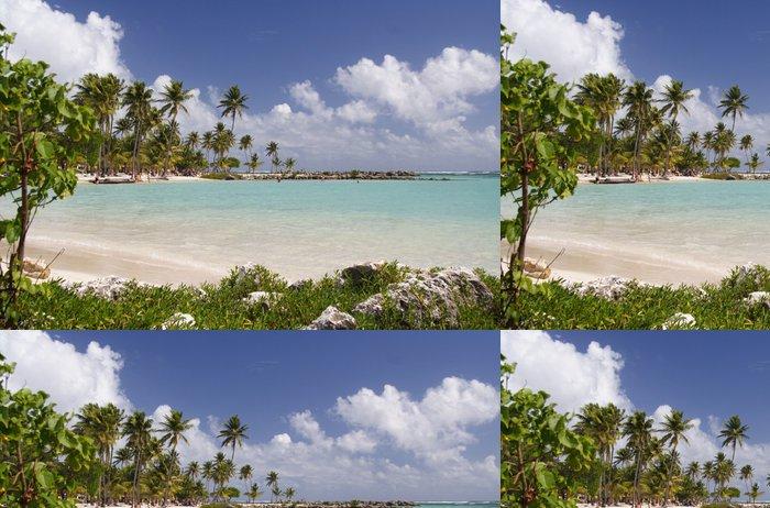 Tapeta Pixerstick Tropical laguna - Amerika