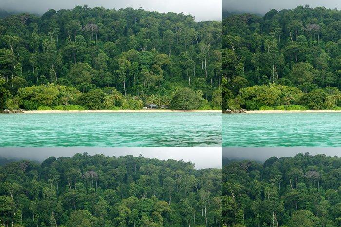 Tapeta Pixerstick Tropická krajina - Ostrovy
