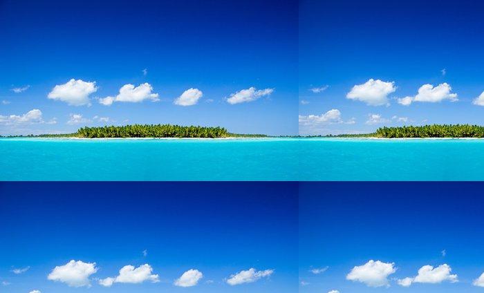 Tapeta Pixerstick Tropické moře - Ostrovy