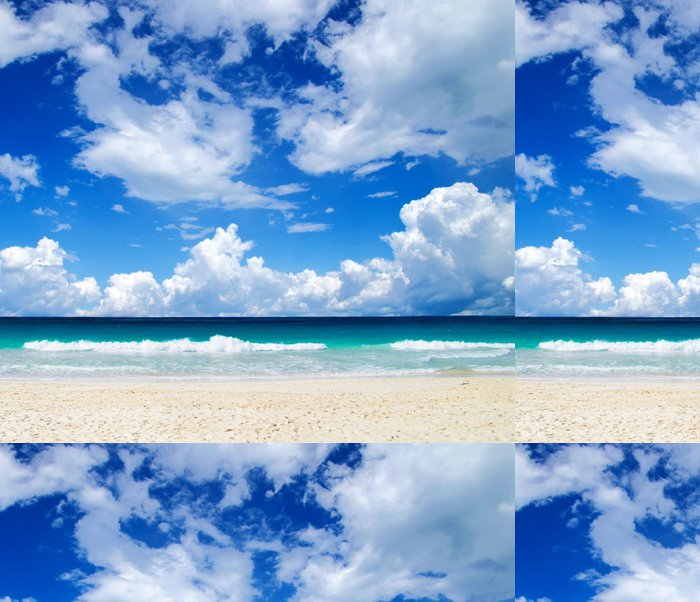 Tapeta Pixerstick Tropické moře - Voda