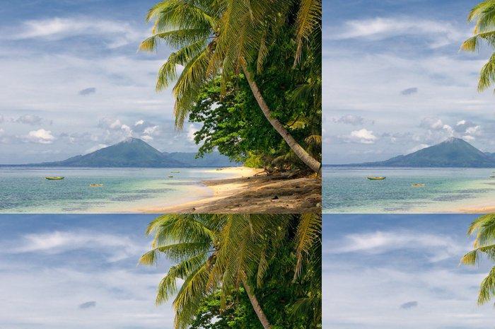 Tapeta Pixerstick Tropické pláže, banda ostrovy, indonésie - Prázdniny
