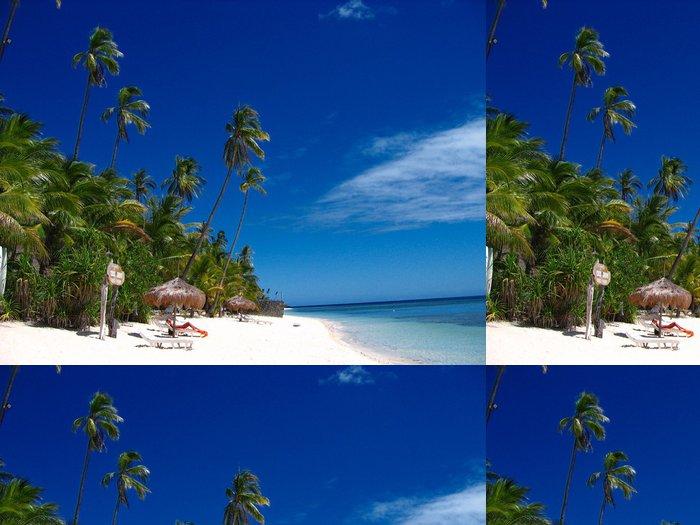 Tapeta Pixerstick Tropické pláže ráj - Prázdniny