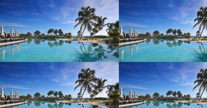 Tapeta Pixerstick Tropické resort - Ostrovy