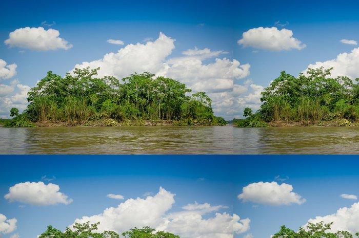 Vinylová Tapeta Tropický deštný prales na Amazonas, Jižní Americe - Voda