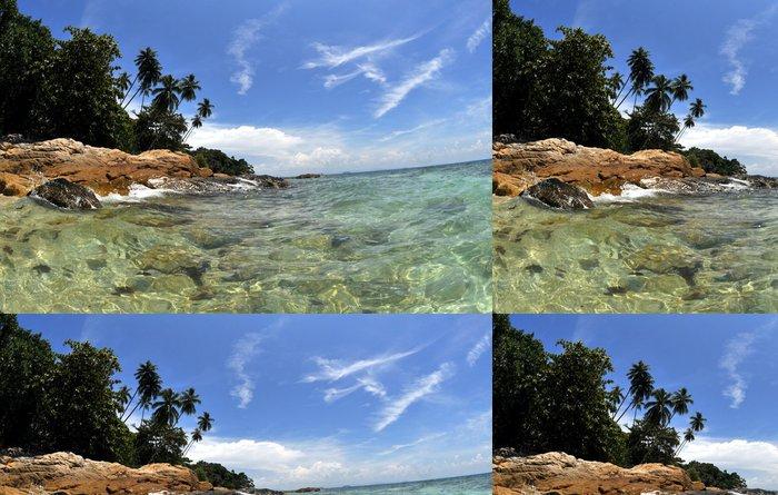 Tapeta Pixerstick Tropický ostrov - Asie