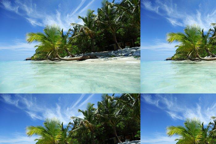 Tapeta Pixerstick Tropický ostrov - Prázdniny