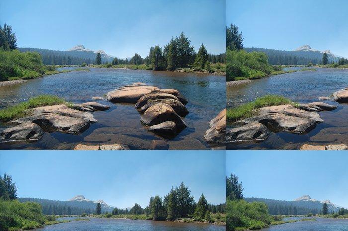 Tapeta Pixerstick Tuolumne řeka v Yosemite - Amerika