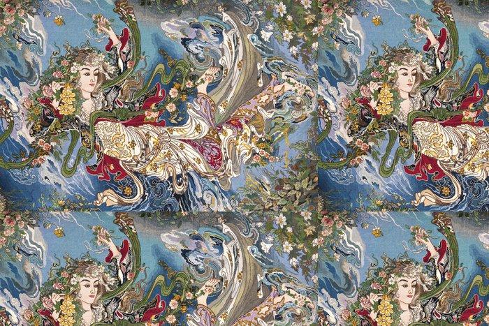 Tapeta Pixerstick Turecký koberec - Umění a tvorba