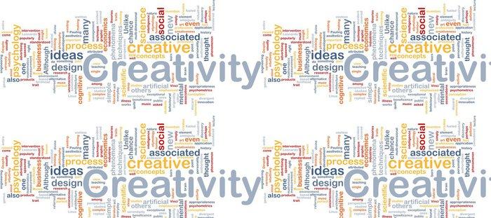 Tapeta Pixerstick Tvořivost tvůrčí zázemí koncept - Nebe